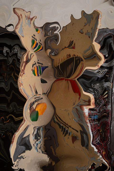 fliessender Schaltkasten - Galerie Art dELLaS  Thomas Dellenbach