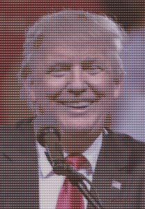 Pop Art Donald Trump mit Freund - Galerie Art dELLaS  Thomas Dellenbach