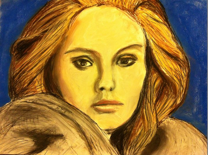 Adele in pastel - FK Art
