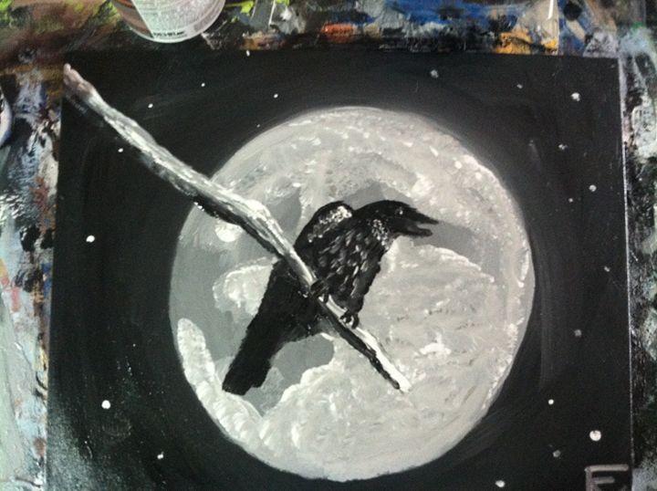 Black bird - FK Art