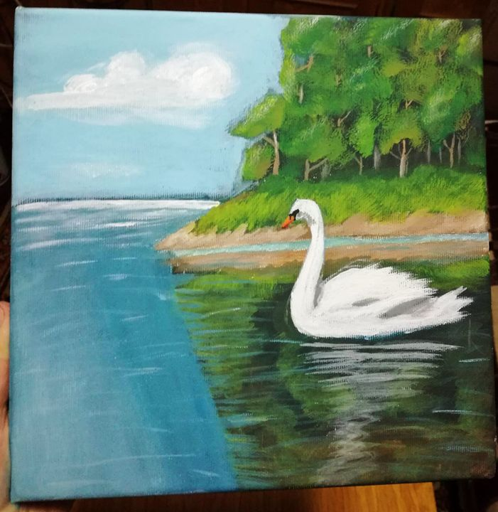 Swan on the lake - Andreea Gh