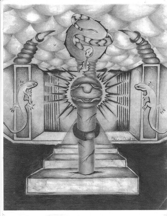 Genie's Lamp - Christopher H Clark