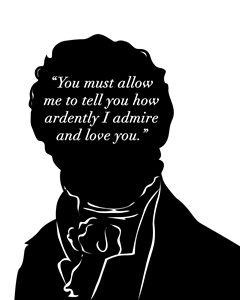 Jane Austen - Mr Darcy Proposal
