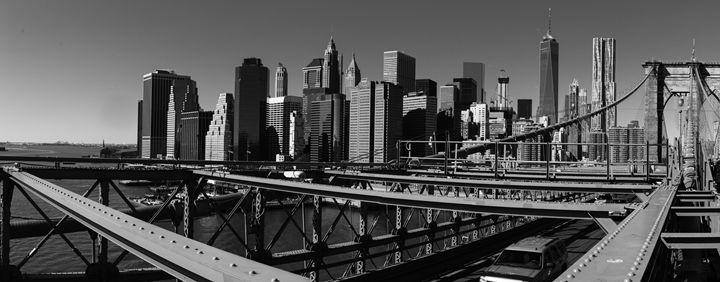 Downtown Manhattan - Si Glogiewicz Photography