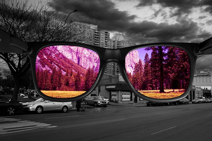 Life Through Rose Tinted Spectacles - Si Glogiewicz Photography