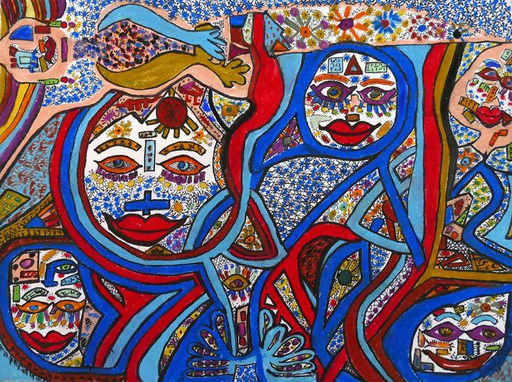 The Gathering - Anna Papadakos Art