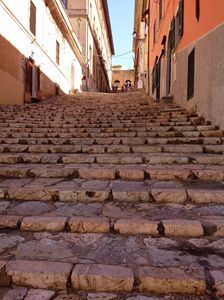 Picturesque Italian stairs