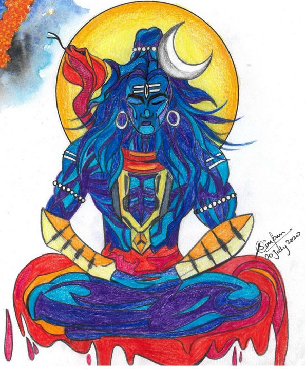 Lord Shiva - The Artistic Styler