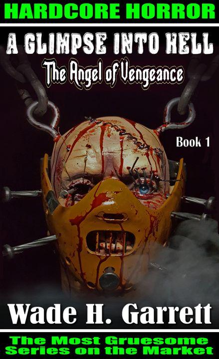 """""""The Angel of Vengeance"""" cover art - Wade H. Garrett"""