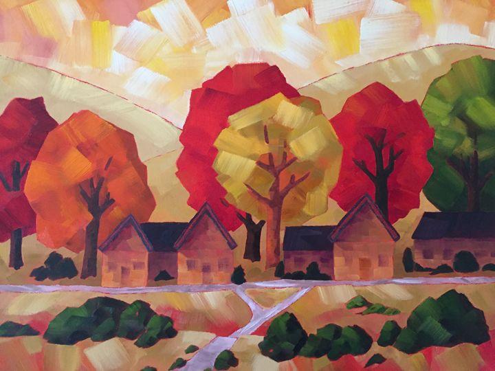 Autumn Retreat - Fayne Creates - Fine Art