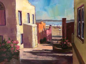 Capitola Alleyway - Fayne Creates - Fine Art