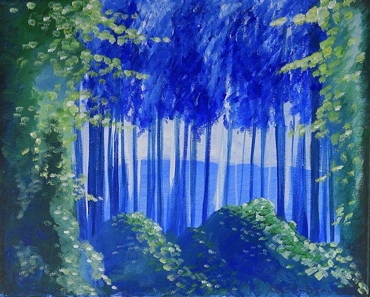 Secret Forest 20X16 - Art Bliss