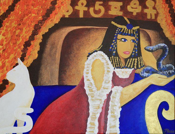 Cleopatra 30X24 - Art Bliss