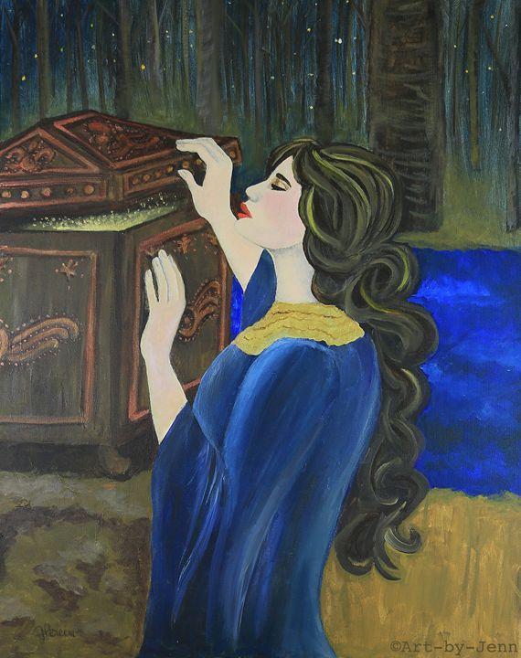 Pandora's Box 24X30 - Art Bliss