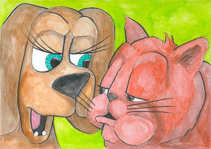 Woof & Meow: New Friends #8 - Ryan Brock Campbell