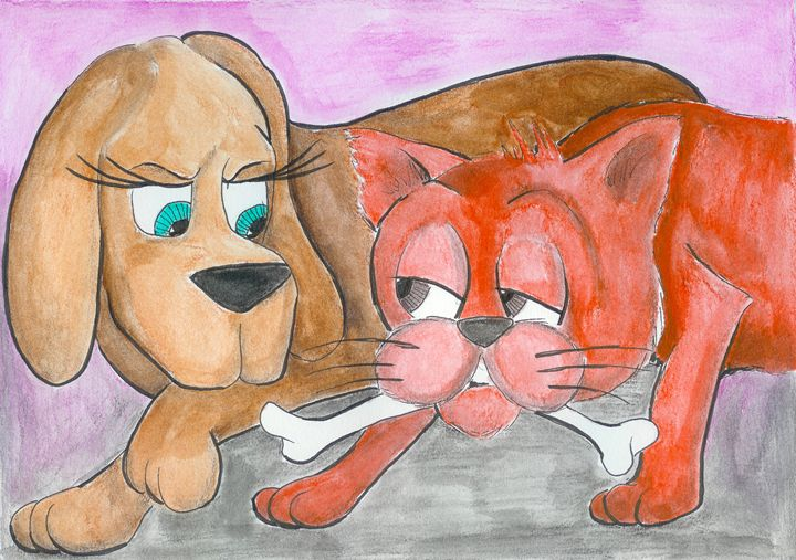Woof & Meow: New Friends #12 - Ryan Brock Campbell