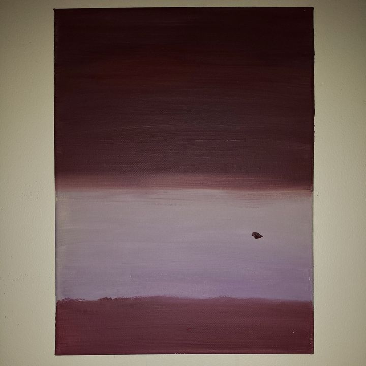 Maroon and Lavender - JW Gallery
