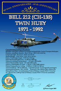 Card 60th 430 ETAH - CH-135 Twin Hue