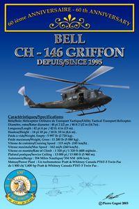 Card 60th 430 ETAH - CH-146 Griffon