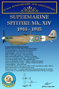 Card 60th 430 ETAH - Spitfire