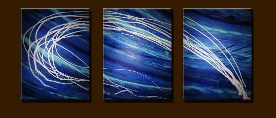 Sea wawes - Peter Abstract Modern Art