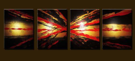 Bright Sun - Peter Abstract Modern Art