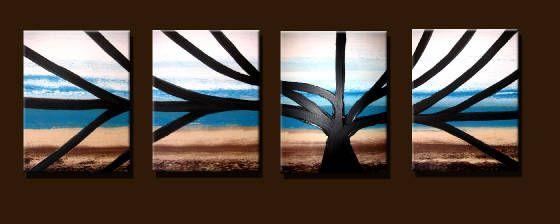 TREE # 4 - Peter Abstract Modern Art