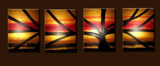 TREE # 7 - Peter Abstract Modern Art