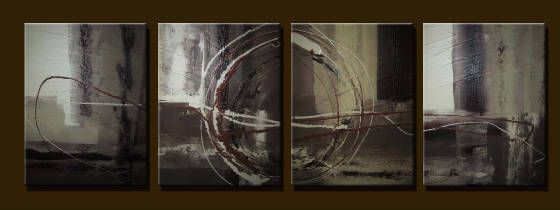 West Earth tone - Peter Abstract Modern Art