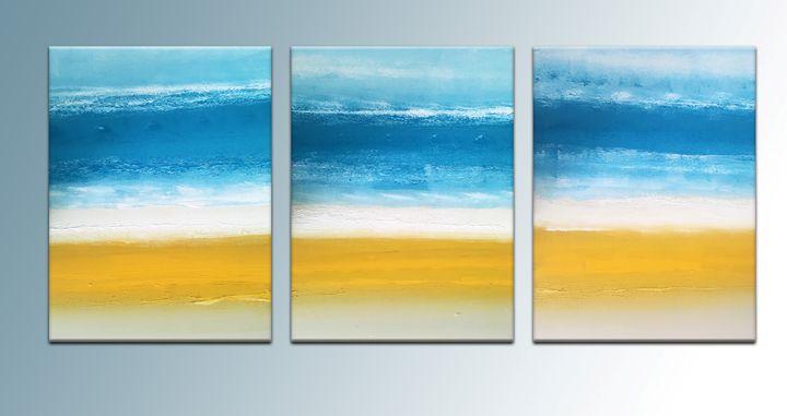 The Beach - Peter Abstract Modern Art