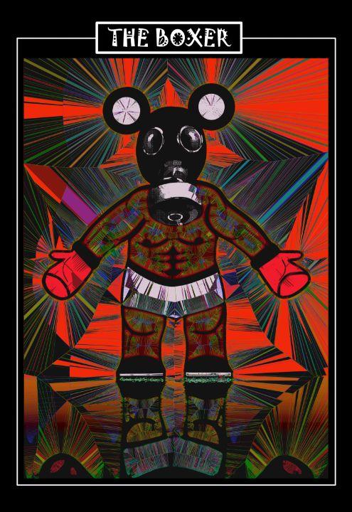 The Boxer - Blair Maule Art
