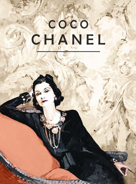Coco Chanel -  Ferrum.artist.ka