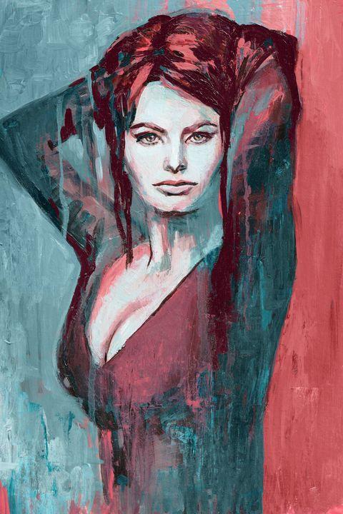 Sophia Loren -  Ferrum.artist.ka