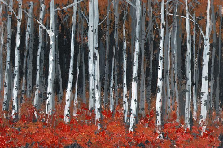 birches -  Ferrum.artist.ka