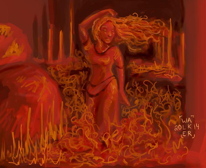 FlamePrincess - Borax's Watercolours and Drawings