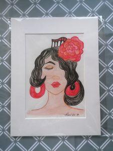 Mujer Sevillana