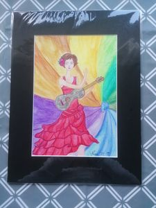 Guitar and colour