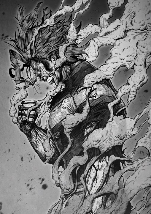 All Might - Jacob Noble