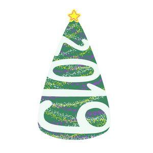 green Christmas tree 2019