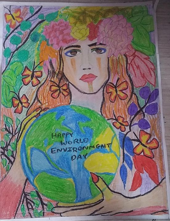 SVE ENVIRONMENT SAVE EARTH - AAMNA SHAIKH ART