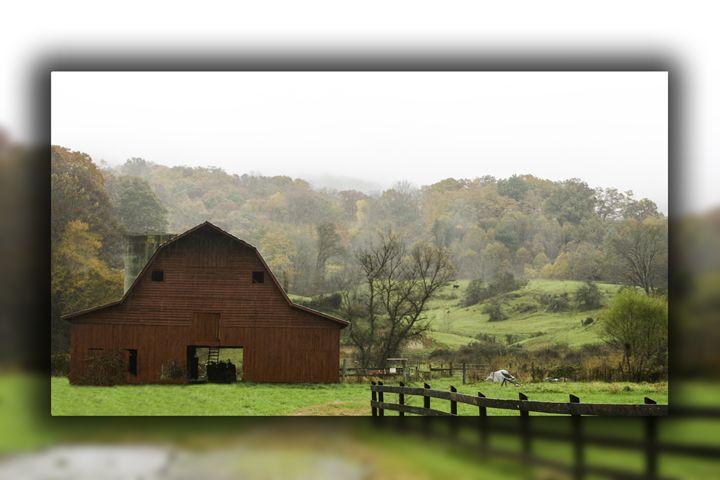 Red Barn - Shuler Gallery