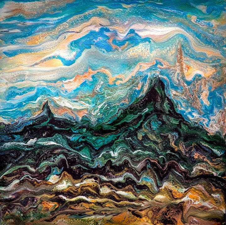 Creation of Mountains - Lilia D