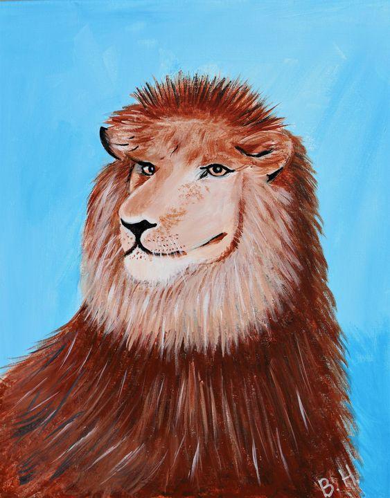Lion - A Splash of Color