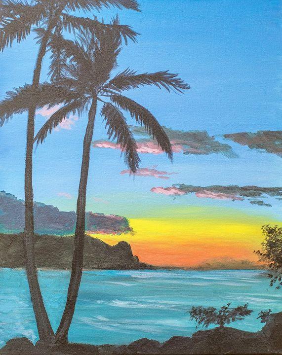 Tahiti Sunrise - A Splash of Color