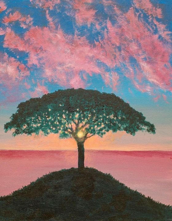 Tree of Life - A Splash of Color
