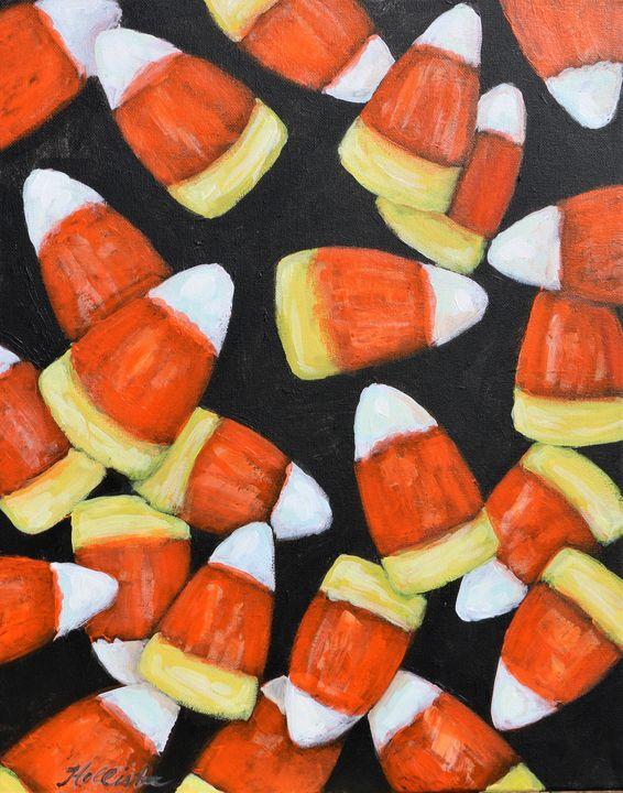 Candy Corn - A Splash of Color
