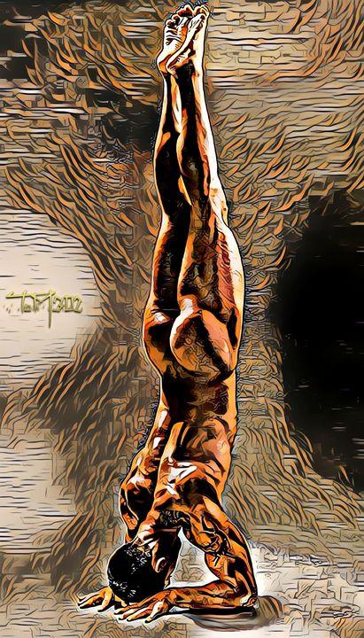 HandStand - Male Art ToM302