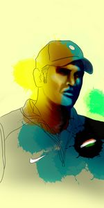 MS Dhoni -Artwork