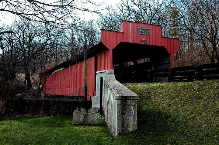 Geiger's Covered Bridge - bancroft