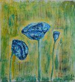 """masterpiece """" Blue Poppies """""""
